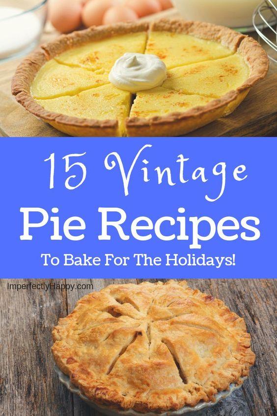 Grandma's Delicious Vintage Buttermilk Pie