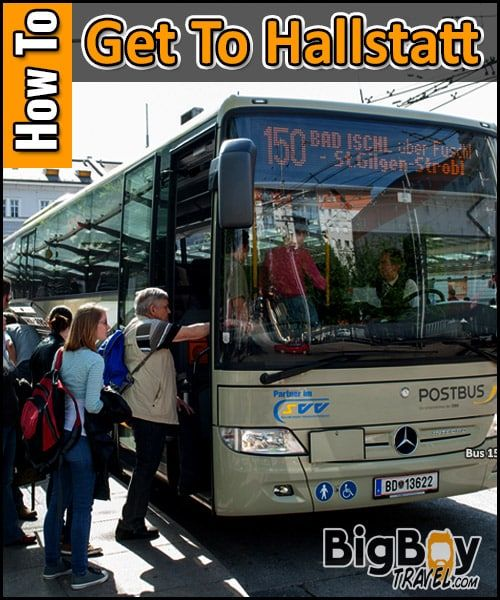 How To Get To Hallstatt From Salzburg By Bus 150 And 542 Post Bus