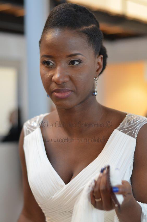 marriee naturelle cheveux cr pu coiffure de mariage. Black Bedroom Furniture Sets. Home Design Ideas