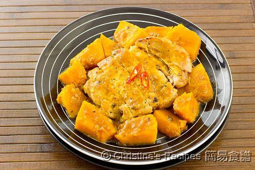 南瓜豬扒【營養好味餐】 Pumpkin Pork Chop from 簡易食譜
