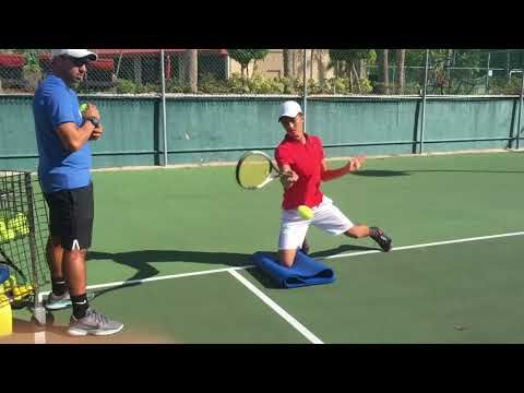 Advanced Tennis Drills For Open Stance Stance Forehand Open Stance Backhand And Slice Brian Dabul Youtube Tennis Lessons Tennis Drills Tennis Workout