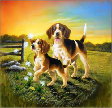 Beagles (272 pieces)