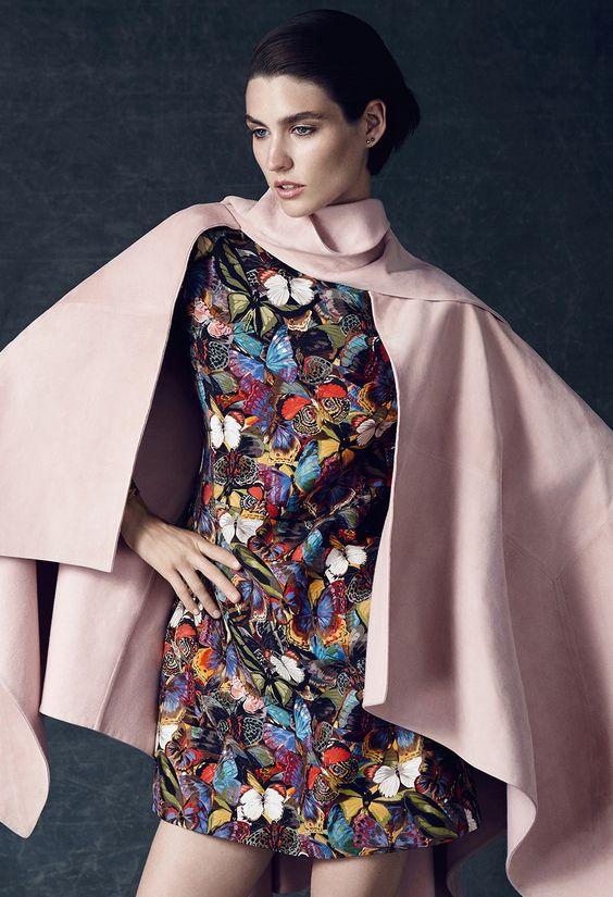"leahcultice: ""Manon Leloup by Emre Guven for L'officiel Turkey December 2014 """