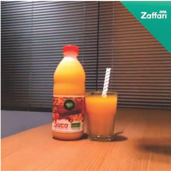 Suco Naturale: 100% laranja e com muito sabor... #zaffari
