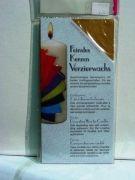 Feinstes Kerzen Verzierwachs coin-gοld (Αδημοσίευτο)