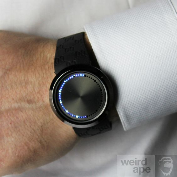 Brand: Photon Movement: #Japanese #Quartz (battery operated) Display: Analogue Strap material: Silicone Case material: Metal Face material: Glass Clasp type: Stra