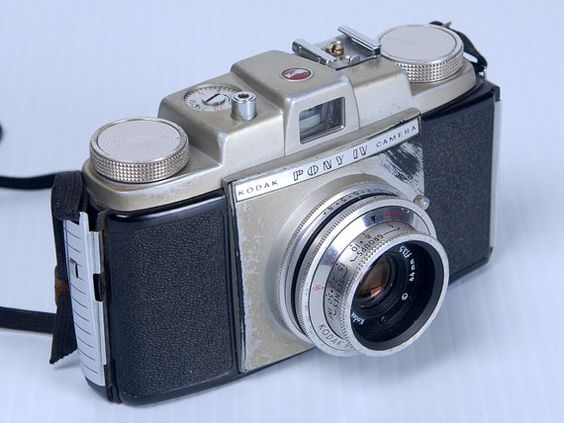 Kodak Pony IV 35mm Camera. Vintage 50's by VintageKlix on Etsy, $12.00