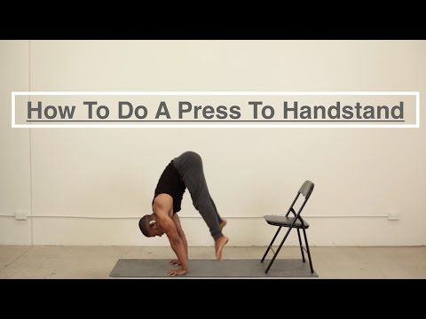 How To Do A Press To Handstand Tutorial Youtube Handstand Tutorial Yoga Handstand Tutorial Yoga Handstand