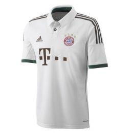 13-14 Bayern Munich Away White Jersey Shirt