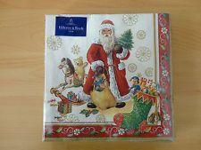 20 Servietten Villeroy & Boch Toy's Specials Weihnachten V & B Neu