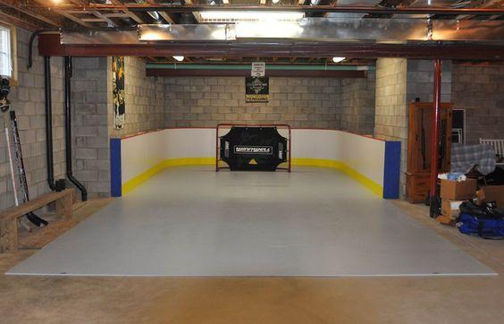 Basement Rink Fan Mail Hockey Room Basement Remodeling Hockey Bedroom