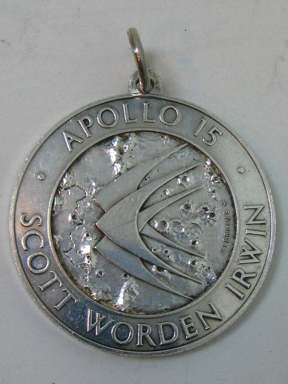 vtg Astronaut NASA Apollo 15 Scott Worden Irwin Sterling ...