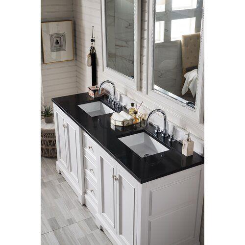 Kewstoke 73 Double Bathroom Vanity Set Double Vanity Bathroom Double Sink Vanity Vanity Set