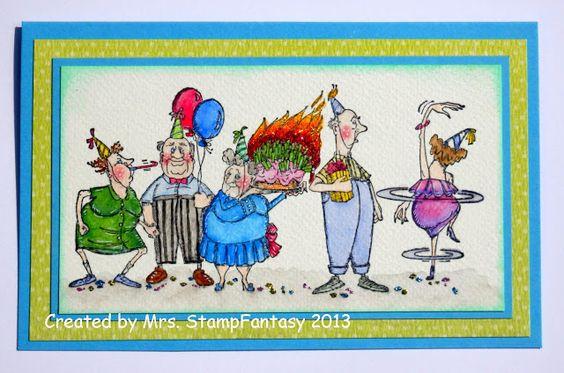 Mrs. StampFantasy ... That`s me !: Art Impressions