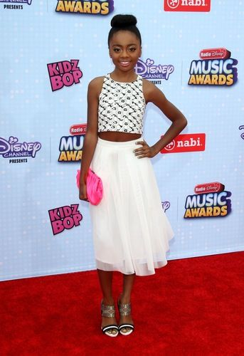 Skai Jackson at the 2015 Radio Disney Music Awards
