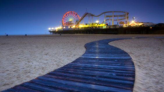 Santa Monica, CA: California Dreamin, Favorite Places, Monica Pier, Beautiful Place, Beach Santamonica