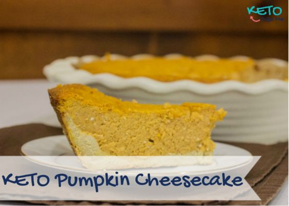 Delectable Keto pumpkin cheesecake only 3 Net Carbs. Low Carb High Fat. Ketogenic Diet Friendly Recipe.