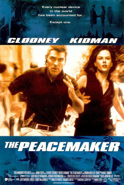 George Clooney And Nicole Kidman In The Peacemaker 1997 2020