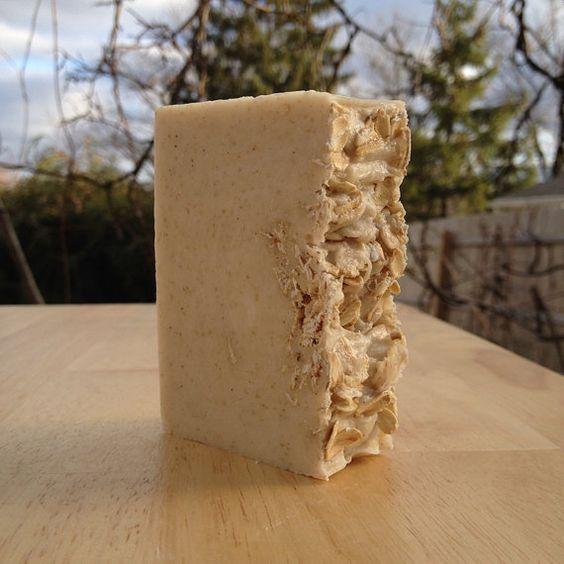 Oat, Goats Milk and Raw Organic Honey - $5.00