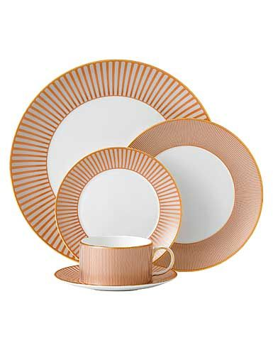Wedgwood China Palladian 5 Piece Place Setting