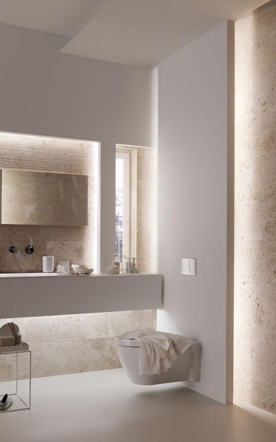Und Wo Sollen Jetzt Die Steckdosen Und Schalter Hin Haus Interieurs Moderne Badezimmerideen Bad Design
