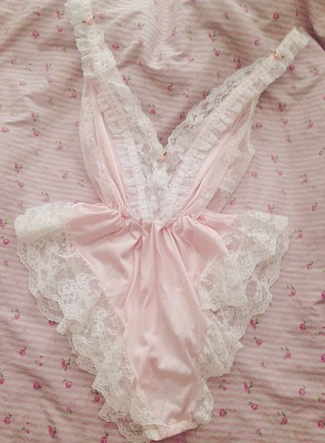 Pink With White Lace ~ Perfect ❤️❤️❤️❤️