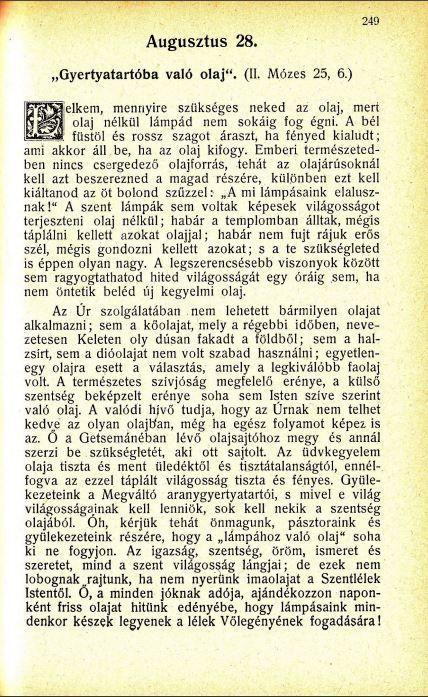 08.28.Spurgeon: Harmatgyöngyök...
