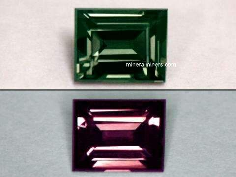 Color Change Garnet Gemstones and Jewelry