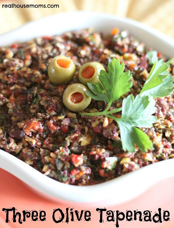 Three Olive Tapenade is delicious, full of amazing flavors, very ...