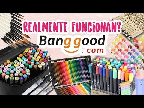 Si Valen La Pena Los Materiales De Banggood Diana Diaz Youtube Materiales De Dibujo Diana Diaz Materiales De Arte