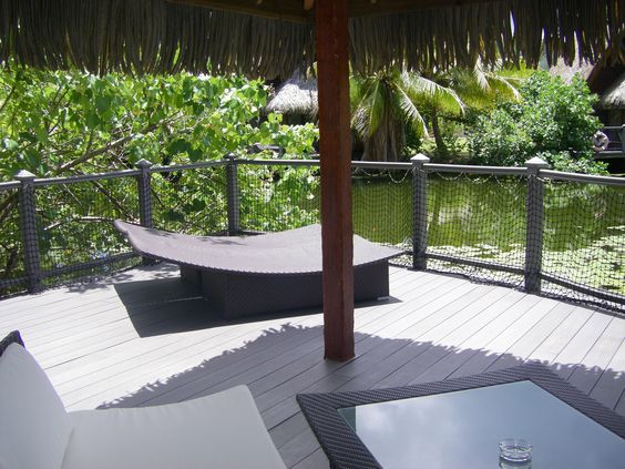 La Pita Resort Huahine, French Polynesia Bungalow Lanai