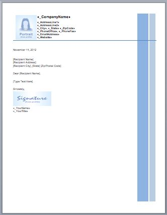 Business Letterheads Templates Free Word Business Letterhead