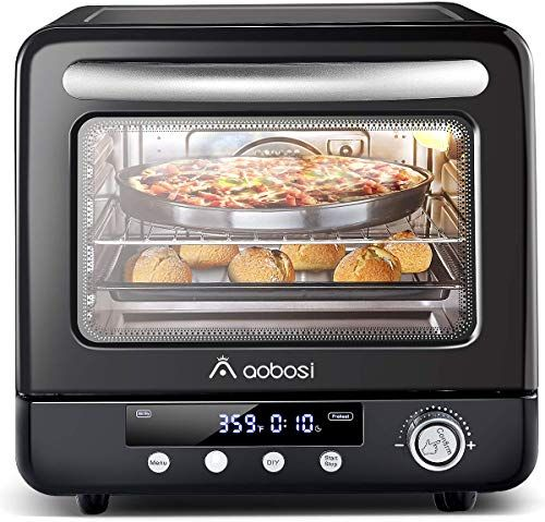 New Air Fryer Oven Aobosi Air Oven Toaster Oven Convection Oven Countertop Rotisserie Multi Function 12 In 1 Preset