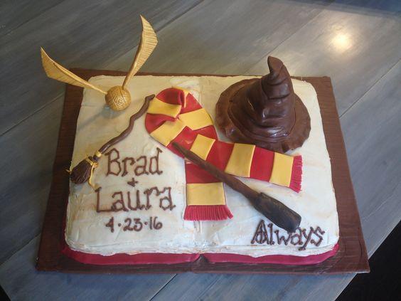 Harry Potter Grooms Cake by Sweetest Things in Cincy