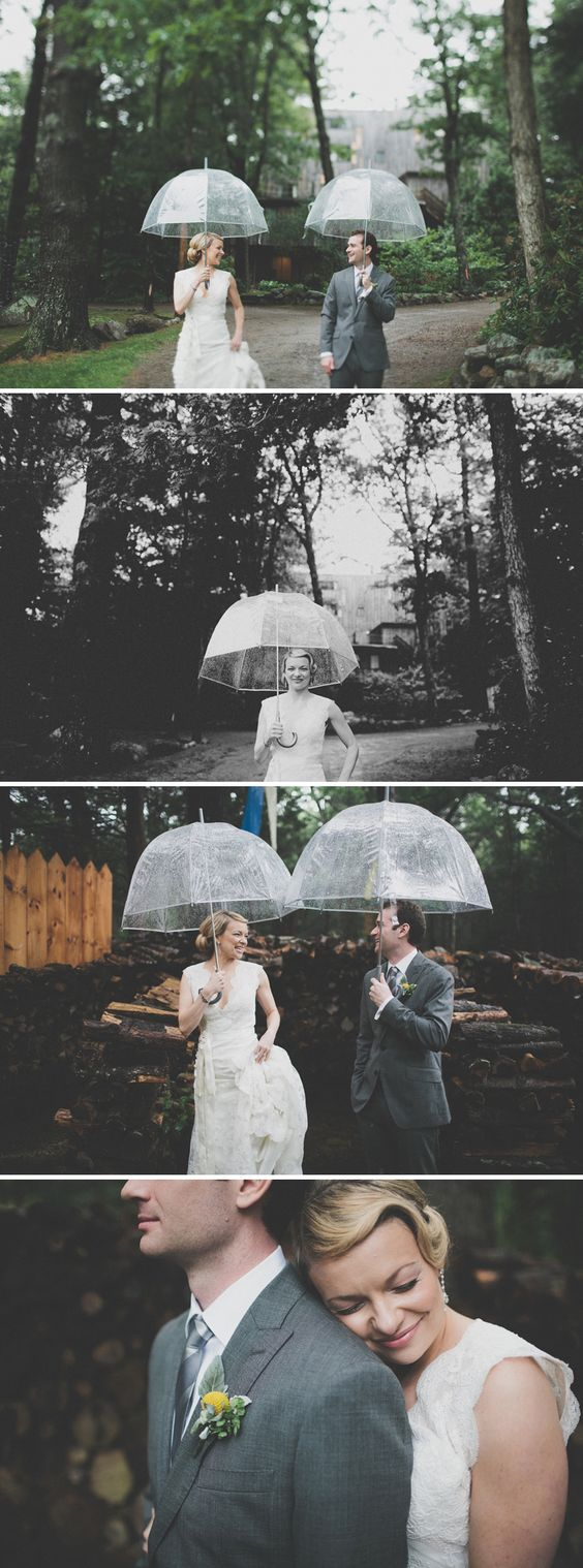 Truth be told, I love rain on a wedding day... Photos by Juan Maclean.