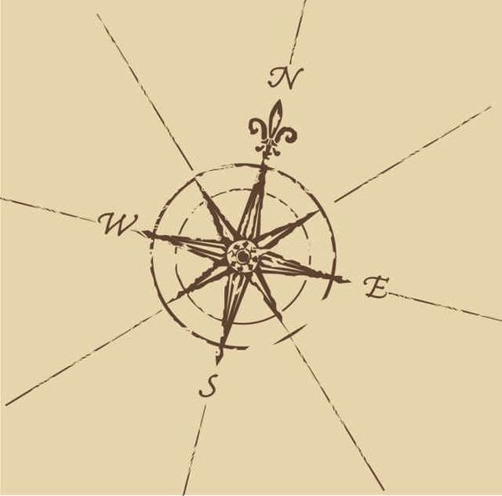 compass tat. maybe get it without the symbol under north