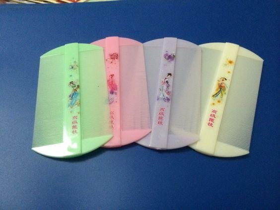 1 Peigne À Poux POU Lentes Lente Geisha Trop CUT Mignon Couleur AU Choix | eBay