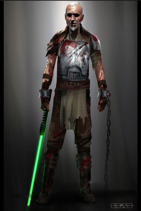 Rahm Kota concept. (Force Unleashed II)