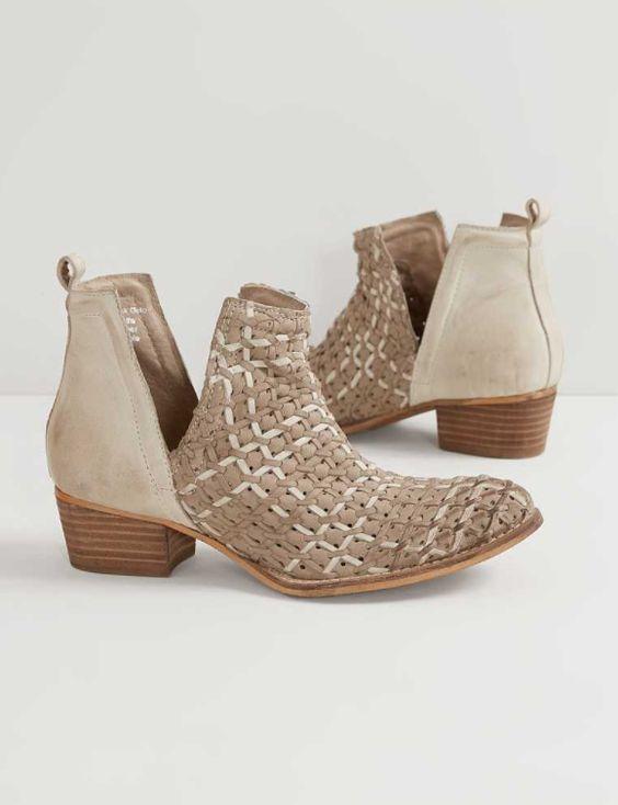 Diba True Struck Gold Ankle Boot - Women