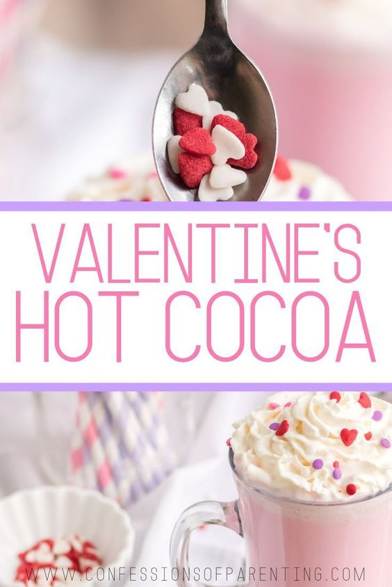 Valentine�s Day Hot Chocolate - Confessions of Parenting