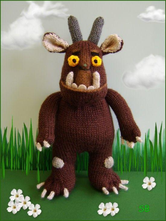 Gruffalo : knitting pattern only IMMEDIATE DOWLOAD Wool ...