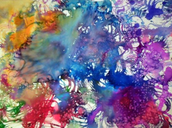 Abstract painting is original and will perk up by PetrocyStudios, $22.00