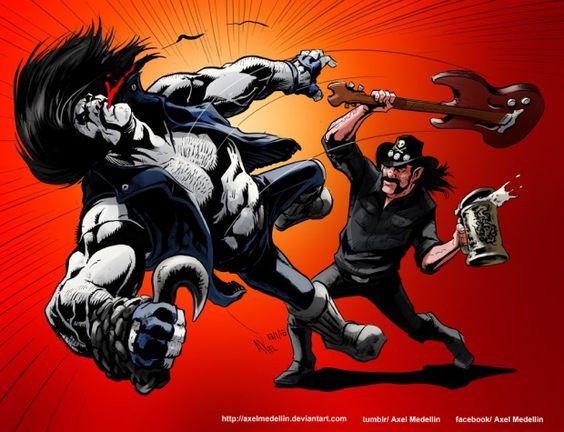 Motörhead: artistas de quadrinhos homenageiam Lemmy