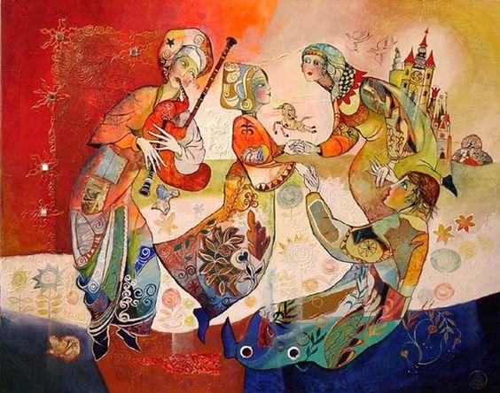 Didier Delamonica, 1950 ~ Mystical Fantasy painter: