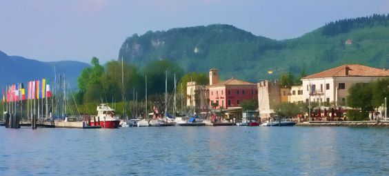 Bardolino , il porto   Lake of Garda,  Italy