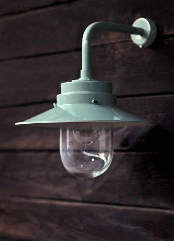 Possible light for the garden? One on each side of the folding doors...