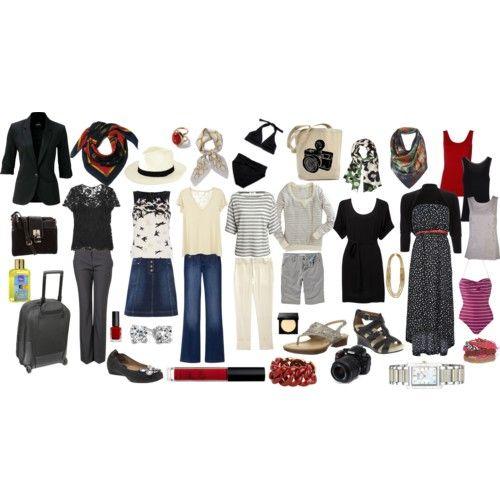 Mediterranean Clothes Style: Travel Clothes (Mediterranean Cruise)