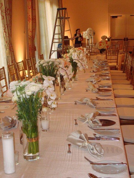 Bride table