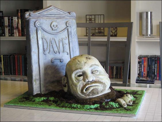 how to make a zombie cake tutorial by tchitwood at instructables.com