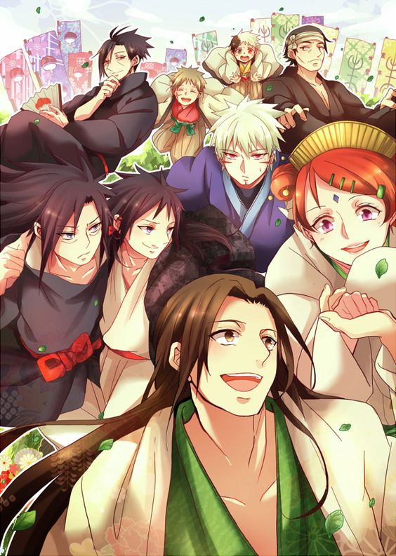 madara and hashirama and mito - photo #13